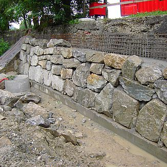 Ufersarnierung Felsenegg