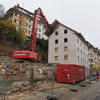 Rückbau Felsenstrasse St. Gallen