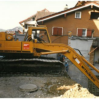 Nostalgie 1. Baustelle 1985