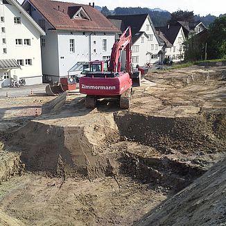 Aushub Leuewies Waldstatt
