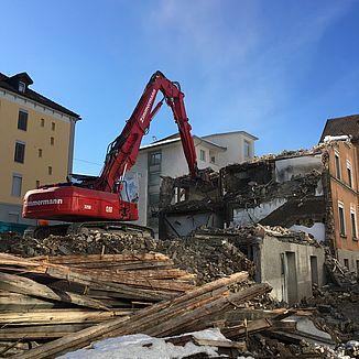 Rückbau Metallstrasse St. Gallen