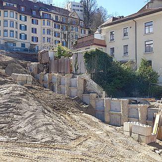Tiefbau Haldenhof St. Gallen
