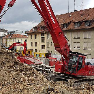Rückbau Haldenhof St. Gallen