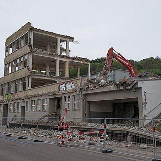 Rückbau Hechtacker St. Gallen