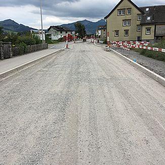 Strassenbau Sanierung Unterrainstrasse Appenzell
